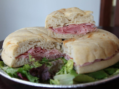 Sandwich at the South Union Bread Cafe